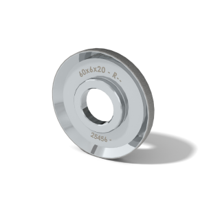 Diamond wheel 60mm R16 B64